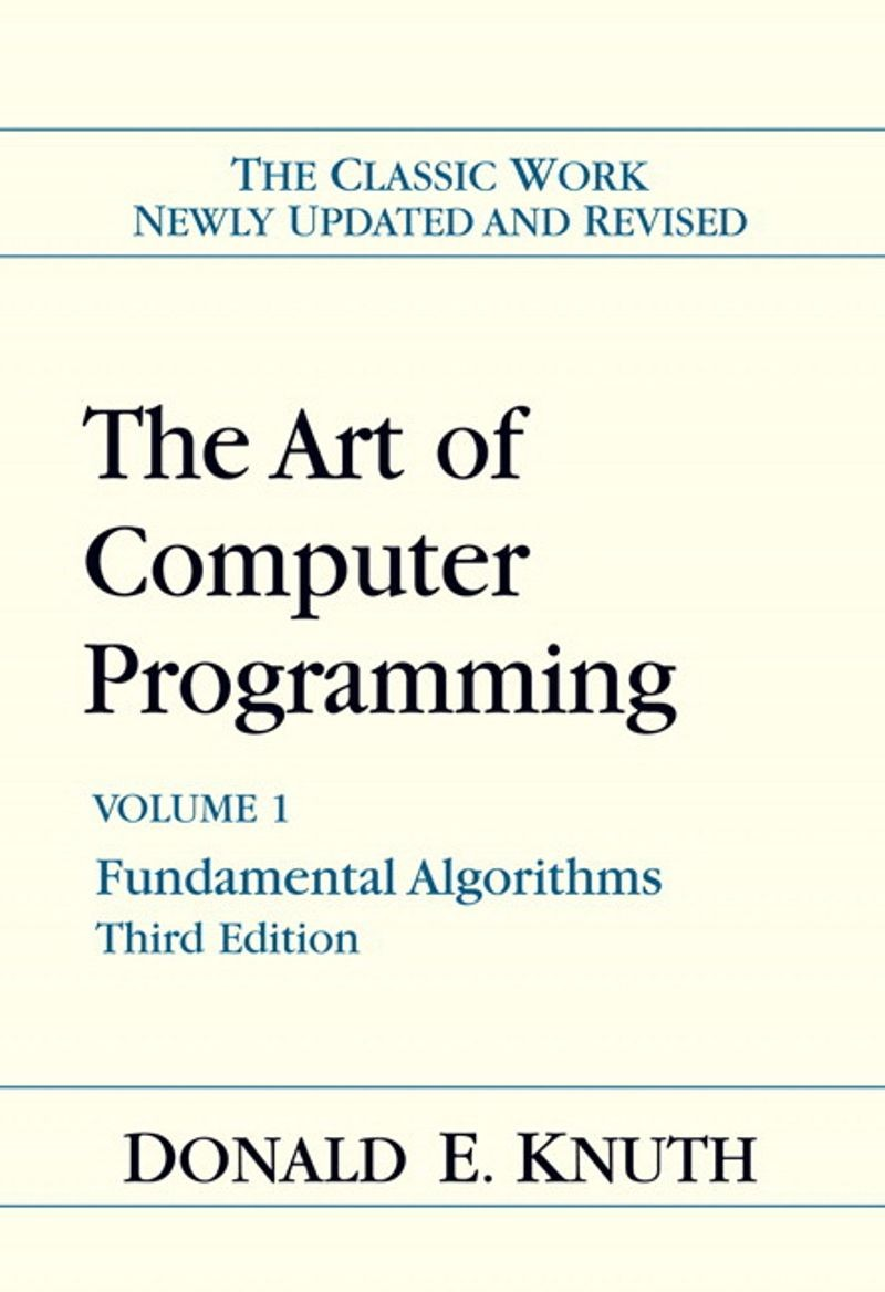 Cover, The Art of Computer Programming, 1968
